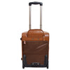 Exclusive Leather Cabin Size Suitcase Kingston Tan 2