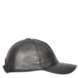hats in black leather