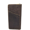 Vintage Leather Travel Documents Wallet Marlo Brown 3