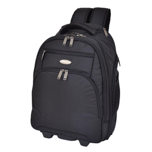backpack with a pull handle