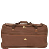 large sized faux suede holdall