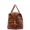 Real Leather Travel Holdall Large Size Duffle Perugia Tan 3