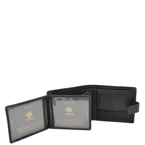 Mens Wallet with a Buckle Closure Hawking Black 4