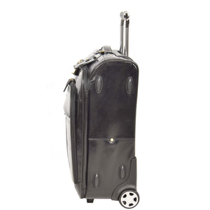 luggage with side protectors