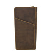 Vintage Leather Travel Documents Wallet Marlo Tan 3