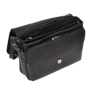 ladies bag with inside storage compartments