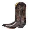 western style leather cowboy boots