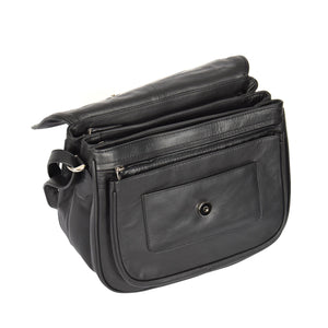 ladies bag with inside storage section