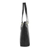 Womens Leather Classic Shopper Bag Sadie Black 3