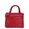 Womens Leather Small Tote Cross Body Bag Everly Red 3