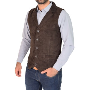 mens waistcoat with an outer pocket
