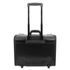 Leather Pilot Case Wheeled Lockable Laptop Bag Cornwall Black 3