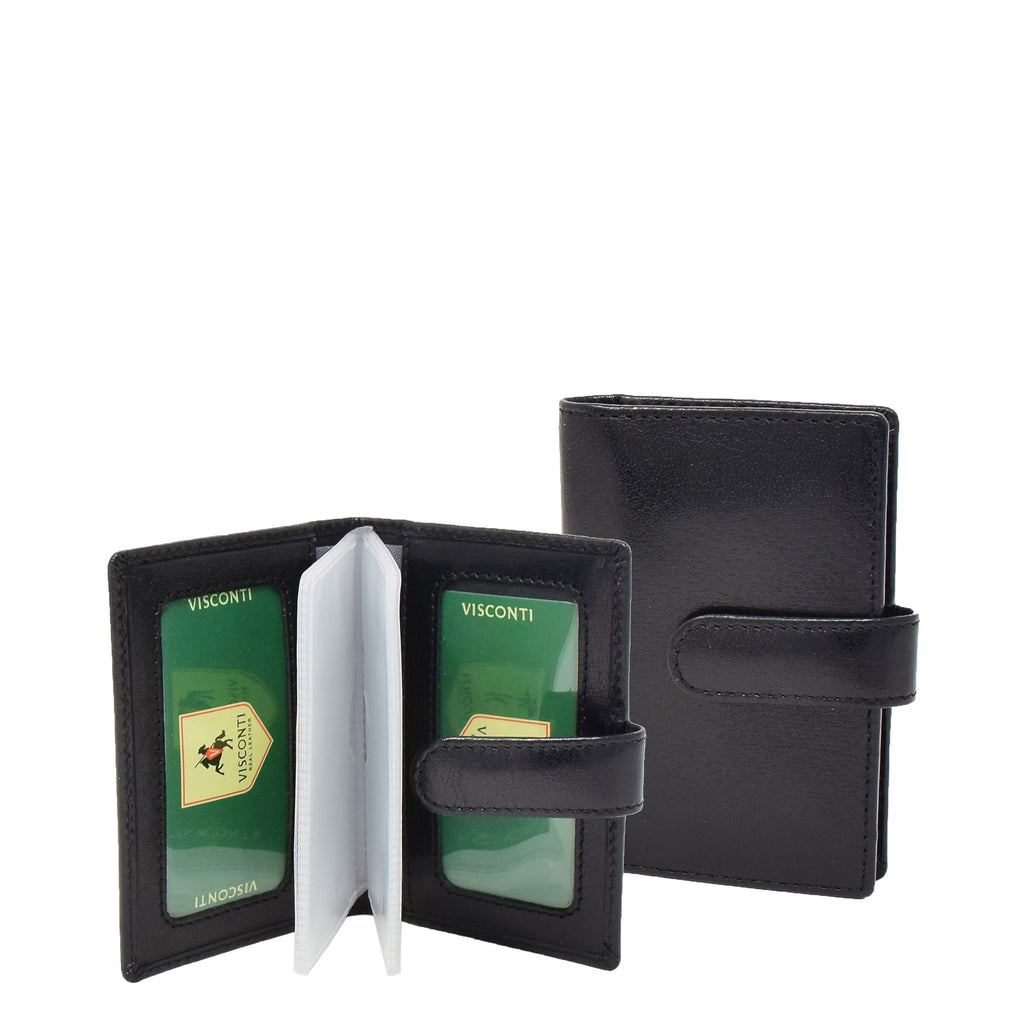 Wallet with Removable Card Sleeves Sao Black