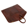 Luxury Leather Slimline Garment Carrier Keswich Brandy 4