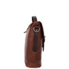 Mens Leather Bag Vintage Style Briefcase Shores Brown 3