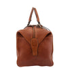 Luxury Leather Travel Holdall Duffle Coleford Tan 3