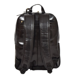 womens leather rucksack