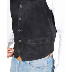 mens waistcoat with two front pockets