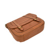 Womens Classic Soft Leather Cross Body Bag Mary Tan bottom
