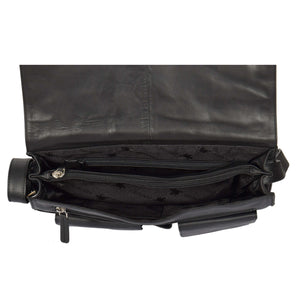 ladies bag with a middle zip divider