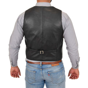 mens waistcoat with back adjuster