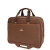 large size tan briefcase
