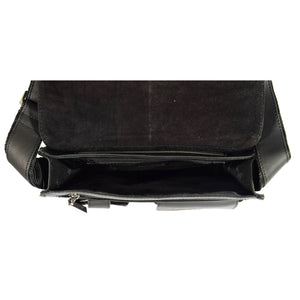 flap over bag for gents inside zip pocket