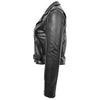 Womens Leather Biker Brando Jacket Kate Black 5