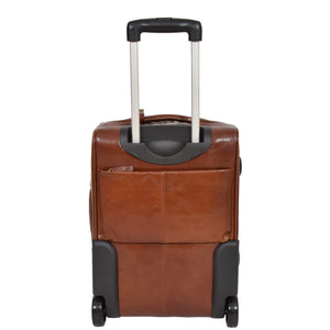 cabin sized leather suitcases