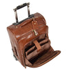leather laptop bag with laptop case