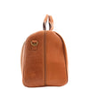 Genuine Leather Travel Holdall Overnight Bag HL015 Tan 3