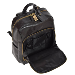 backpack with organiser pockets