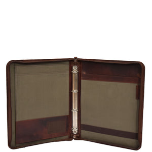 Detachable Ring Binder Documents Folder Falkirk Brown 5