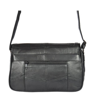 ladies classic bag with a back zip pocket