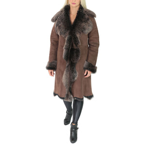 3/4 length toscana fur coat