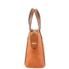 Womens Leather Small Tote Cross Body Bag Elsie Tan 4