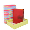 Womens Soft Leather Organiser Purse Lyon Red Multi 6