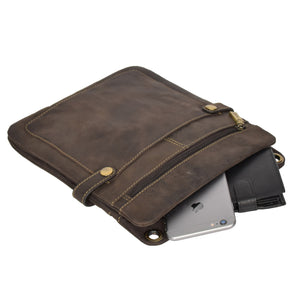 leather tablet bag