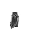 Womens Leather Small Cross Body Organiser Bag HOL005 Black 3