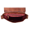 mens leather bag with inside pockets