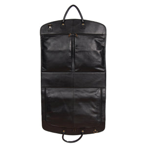 portable leather travel bag