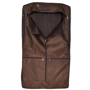 leather suit carrier with large capacity