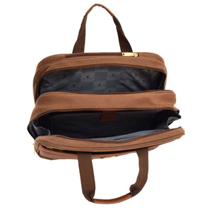 multiple compartment laptop bag