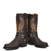 old west style biker boots