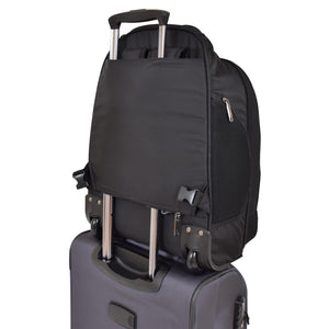 backpack with removable back straps