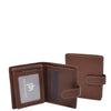Small Leather Credit Card Wallet Mario Brown
