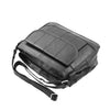 Womens Leather Cross Body Messenger Bag HOL002 Black 4