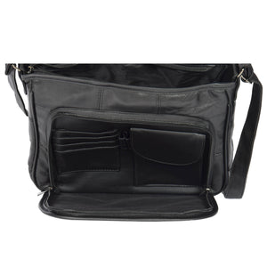 bag with inside organiser sections