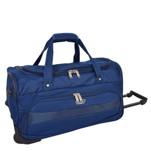 Lightweight Mid Size Holdall with Wheels HL452 Blue 1