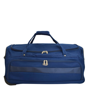 Lightweight Large Size Holdall with Wheels HL472 Blue 1